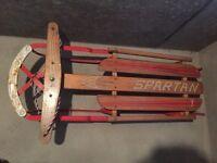 Snow sledge