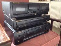 'MARANTZ' ~ CD,TAPE,AMP/TUNER SEPARATES.