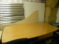 Large officeconference table/with 6 chairs