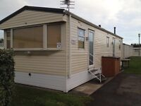 Trecco Bay 8 berth caravan for hire, December 28th-2nd Wednesday-Monday £325 new year
