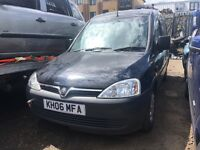VAUXHALL COMBO, BREAKING FOR SPARES,
