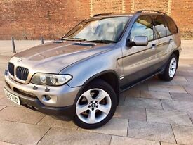 2005 BMW X5 DIESEL ++ AUTOMATIC ++ LEATHER ++ ONE OWNER ++ LOVELY CONDITION ++ NOVEMBER MOT.