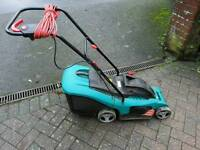Bosch rotak electric lawnmower