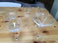 Riedel Crystal Sommelier Glasses - selection of 5
