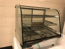 Heated display unit warmer catering restaurant hotels equipment
