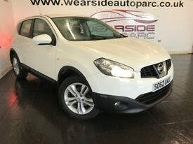 NISSAN QASHQAI 1.5 dCi Acenta 2WD 5dr (white) 2012