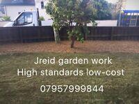 Jreid garden work all types of trees hedges