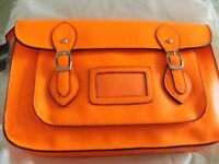 WINDSOR LEATHER SATCHEL (Brand New)