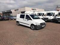 2012 mercedes Vito 113cdi 6 seater crew van Now £7995 j&ft&v mallusk