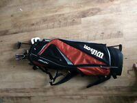 V max mitsushiba golf clubs and bag