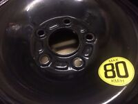 Ford Focus C-Max, Grand C-Max, ST, FOCUS CC, RS, Mondeo Space Saver Spare Wheel