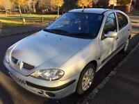 Renault megane 1.6 petrol 1year mot