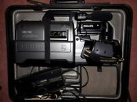 PHILLIPS VHS HQ CAMCORDER