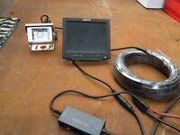reversing camera kit/ camper/plant machineery