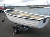FISHING DINGHIES BUY THIS MONTH AND GET A FREE ELECTRIC OUTBOARD AND BATTERY - DELIVERY AVAILABLE