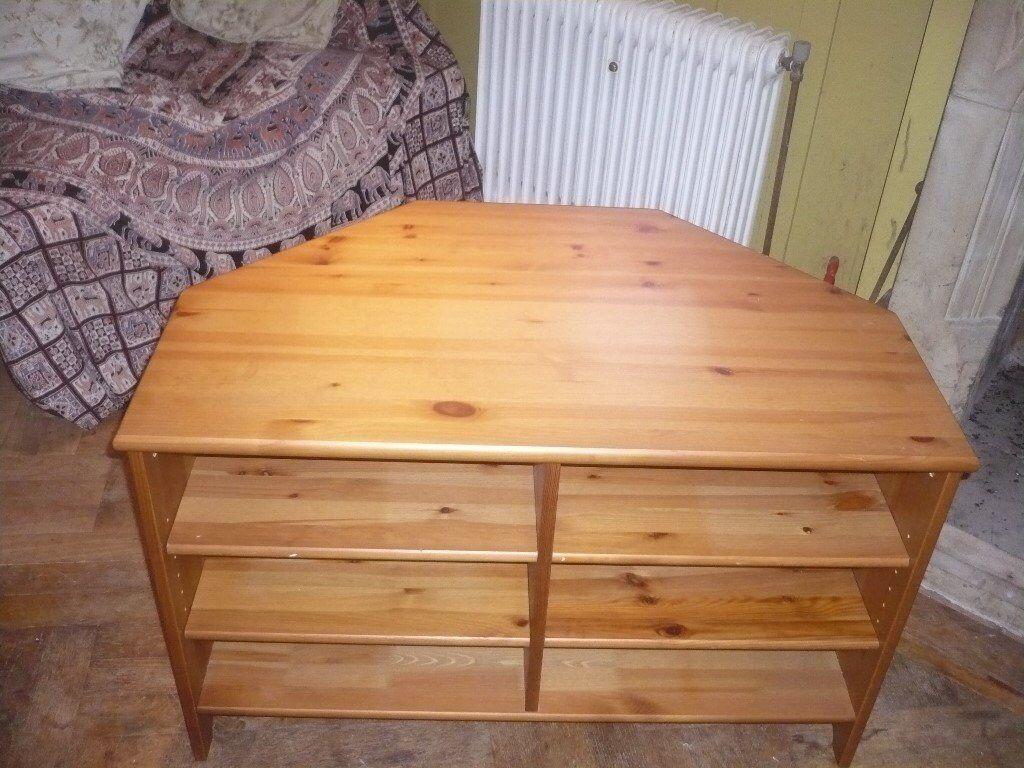 Honey Coloured Pine TV/ Coffee Table