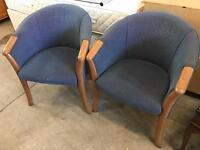 6 tub chairs £25 each