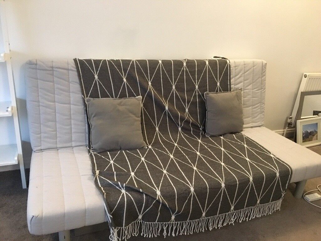 IKEA SOFA BED - great condition and free cushions!