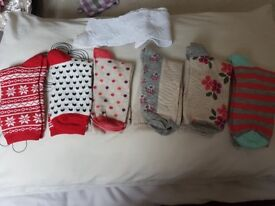 New socks 7pairs for 2pounds