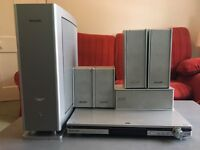 Panasonic Surround Sound DVD CD 5:1 Speakers SA-HT500 Home Theatre System