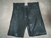 Ladies Leather Trousers.