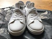 White Zara sneakers - size 9 - with tags