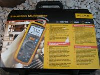 FLUKE 1587FC INSULATION/TRUE-RMS DIGITAL MULTIMETER. brand new