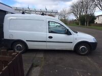 van with reach and wash system