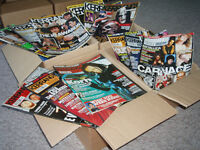 Kerrang! magazines, March 2001 to September 2010