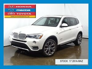 2015 BMW X3 xDrive28i+NAVIGATION+CUIR+TOIT+BLUETOOTH