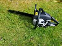 Titan petrol chainsaw