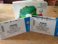 4 x Tickets for The Very Hungry Caterpillar at Ambassadors Theatre, London