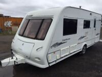 Elddis typhoon crusader 2007 4 berth awning Moter Moter end wash room