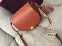 Crossbody Dune Handbag - Tan