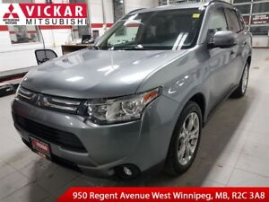 2014 Mitsubishi Outlander GT/ Navigation/ Leather Seats