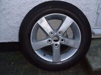 Mazda 3 wheel and tyre