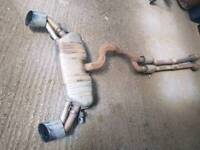 Audi rs3 8v complete exhaust
