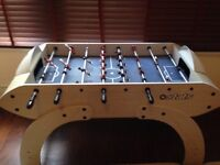 Very good condition football table, hardly used