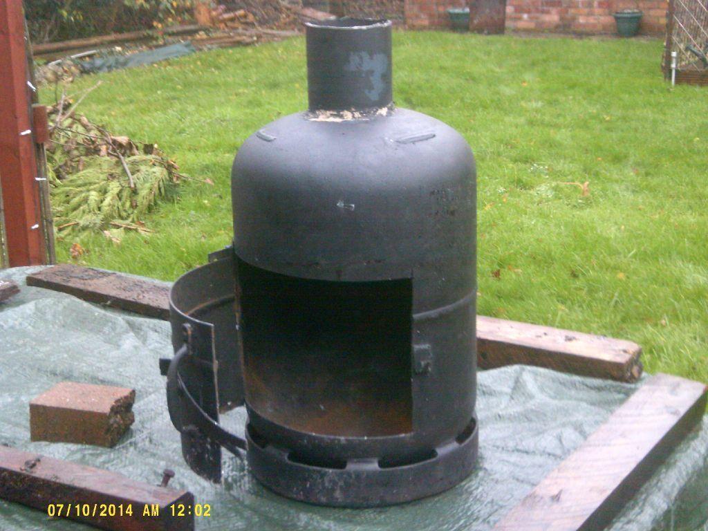 gas bottle log burner in gedling nottinghamshire gumtree. Black Bedroom Furniture Sets. Home Design Ideas