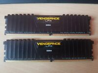 Corsair Vengeance LPX 2x4 gb (8GB) DDR4 2400 MHz XMP 2.0 High Performance RAM