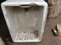 Belfast sink ceramic and stone