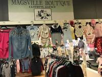 Magsville Boutique clothing WANTED