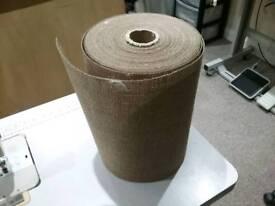 Roll of pelmet buckrum