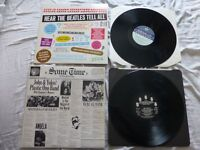 beatles records x 5 lps in total
