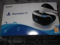 Playstation PS4 VR Headset Bundle