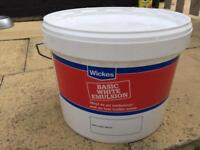 Wickes white emulsion