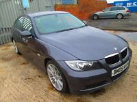 2005 BMW 320I SE GREY 6 SPEED MANUAL MOT MAY 2017 / ONLY 80k on the clock