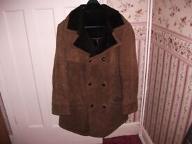 BEAUTIFUL SUEDE COAT AS PICTURED ONLY £15,