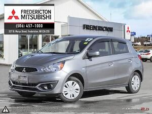 2017 Mitsubishi Mirage ES! AIR! HEATED SEATS! WARRANTY TO 2027!