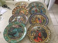 Wedge wood collectible plates